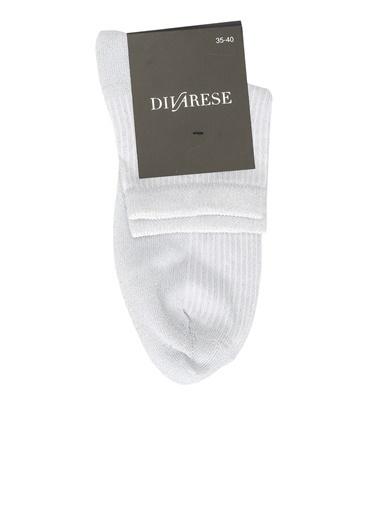 Divarese Divarese 5023468 Kadın Çorap Gümüş